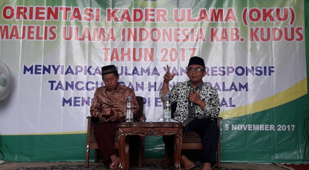 Universitas Muria Kudus Wakil Rektor Iv Jadi Narasumber Orientasi Kader Ulama